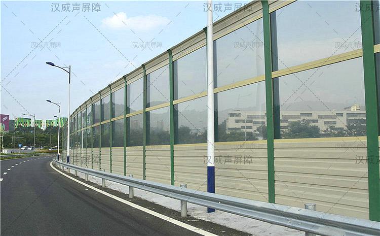广西南宁公路道路桥梁非金属隔音板