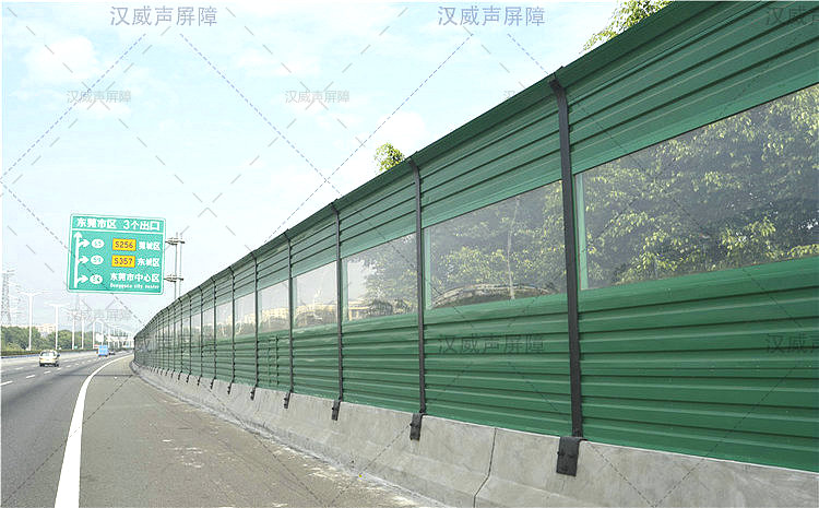 公路道路桥梁噪音隔音栏设施
