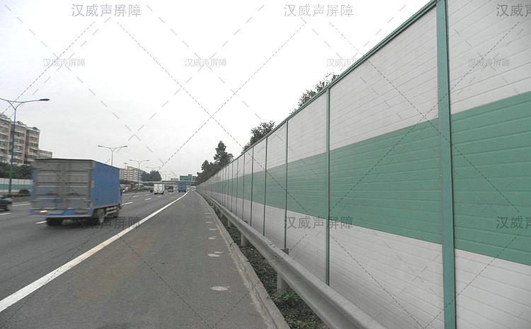 湖北宜昌公路道路桥梁水泥隔音板