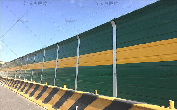 公路道路桥梁夹胶钢化玻璃隔音板
