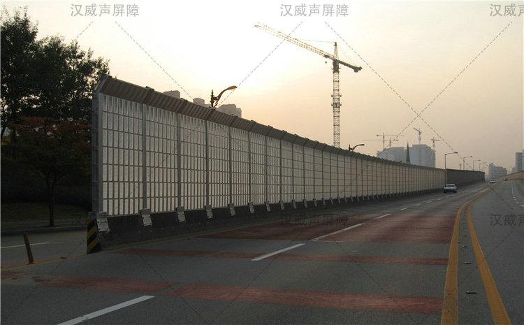 公路道路桥梁玻璃钢隔音板