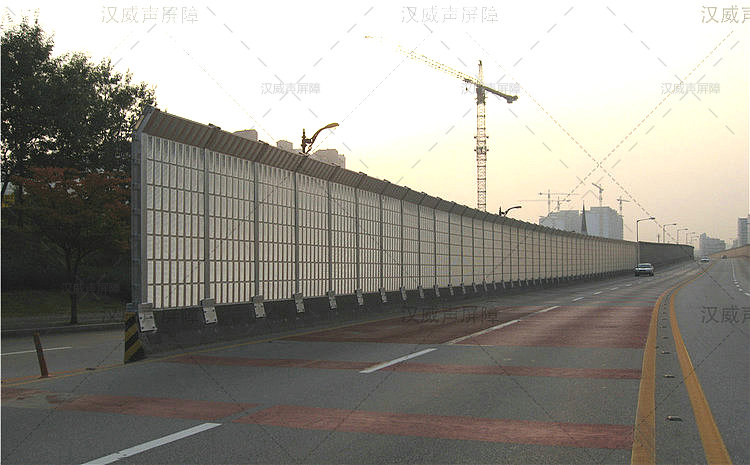 云南玉溪高架桥梁降音网