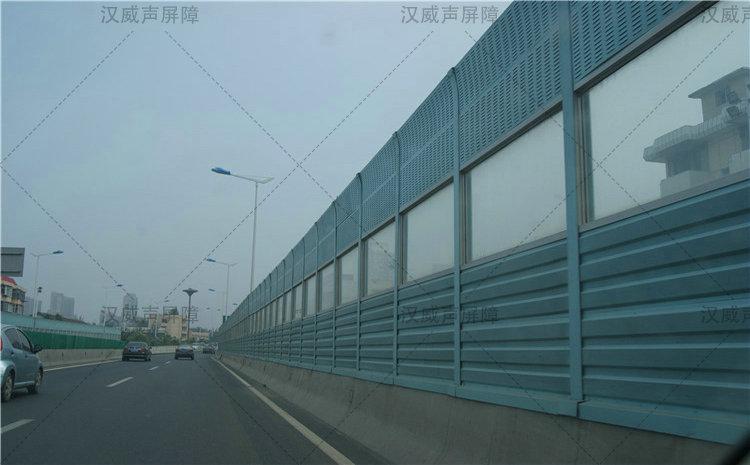 公路道路桥梁通透板隔音板