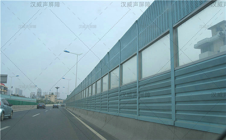 湖北宜昌公路道路桥梁通透板隔音板