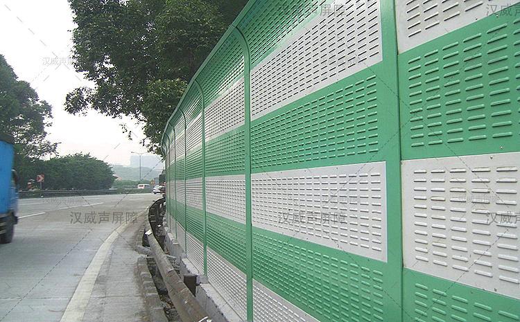 公路道路桥梁挡噪墙