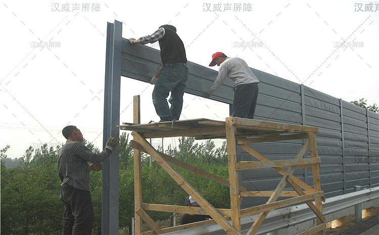 云南玉溪公路道路桥梁噪声防止栏