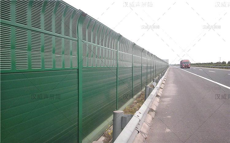 湖北宜昌公路道路桥梁加筋亚克力板隔音板