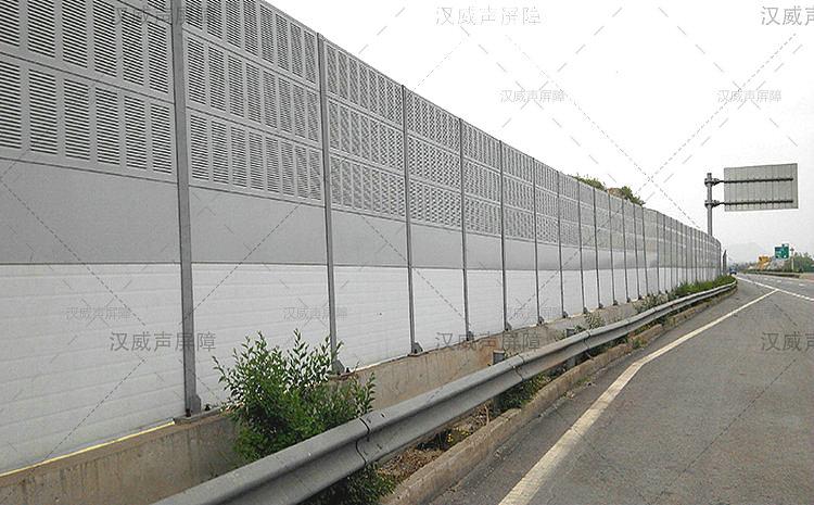 云南玉溪桥梁金属声屏障