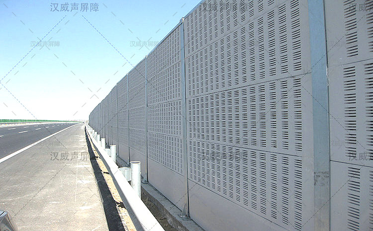 公路道路桥梁铝合金隔音板