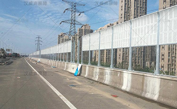 内蒙古呼和浩特公路道路桥梁降噪围墙