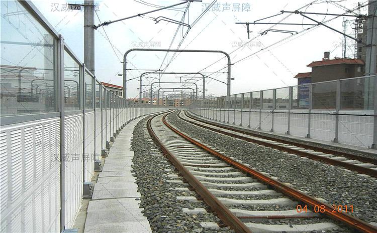 火车轨道插入式声障屏