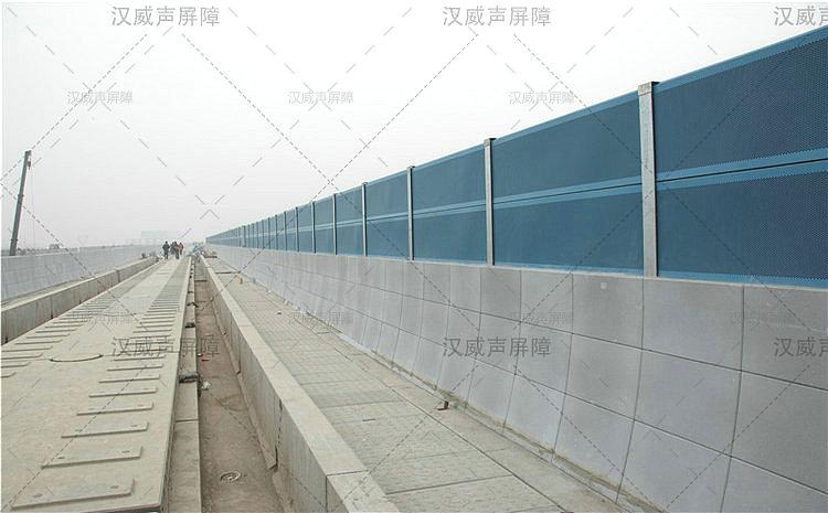 高架地铁彩钢瓦声障板