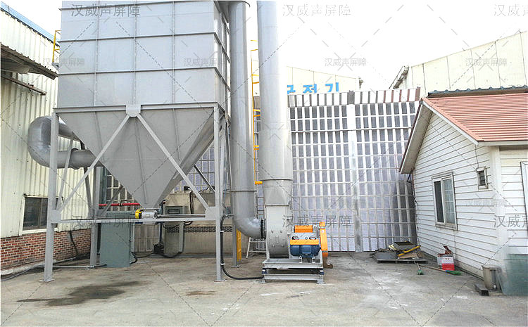 湖北宜昌厂房车间噪音隔离板