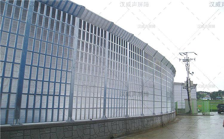 云南玉溪工厂金属声屏障